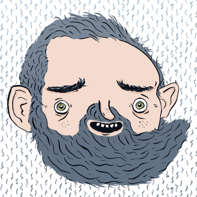 selbstporträt Illustration